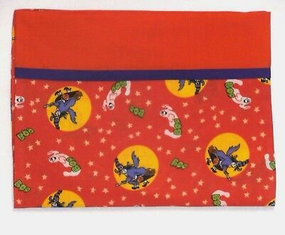 Halloween Toddler Pillowcase on Witches&Ghost Orange Cotton HA12-1 New Handmade