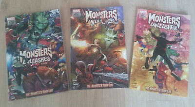 Marvel Monsters Unleashed (Mini-Serie komplett) Panini, deutsch