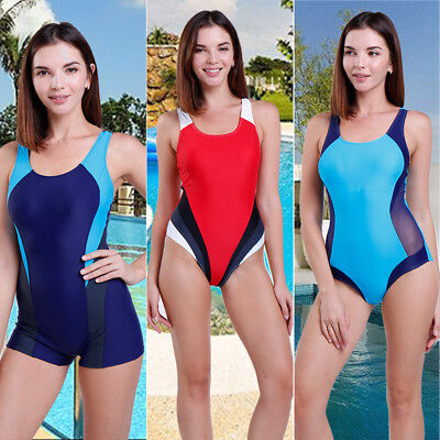 Women's One Piece Swimwear Monokini Swimsuit Push Up Bathing Bikini Beachwear D#