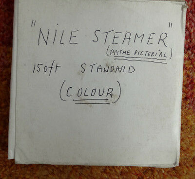 "Vintage Pathe Pictorial Cine Colour Film Entitled ""Nile Steamer"""