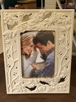 Lenox Filigree Forest 5x7 Photo Picture Frame NEW