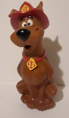 Scooby-Doo Toys Hard Plastic Figure Collectible Bottle Fireman SDFD 1999