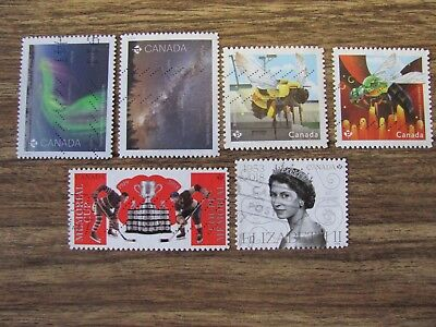 Used Stamps Recent X 6