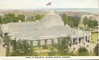 Palace Of Horticulture Canadian National Exhibition Toronto ON Postcard D5