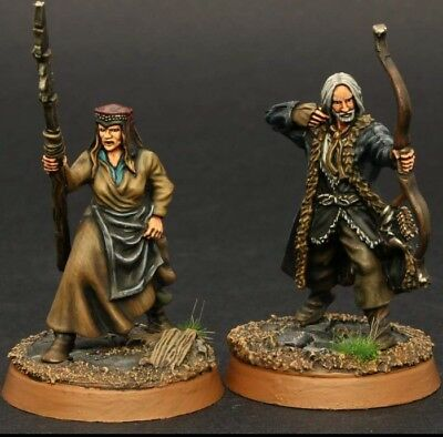 Lotr - HdR- Hobbit - ForgeWorld - Tabeltop - Percy und Hilda - ProPainted