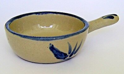 Unusual Bourne Denby Model  Soup Bowl With Handle