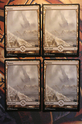 MTG Magic VO playset 4x  Wastes (183 - Full Art) OGW Oath of the Gatewatch