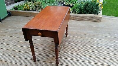 Victorian Mahogany Pembroke Table Antique
