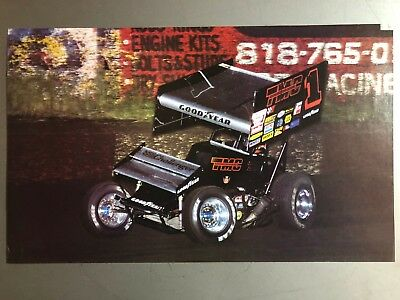 1989 Sprint Race Car World of Outlaws Print, Picture, Poster RARE!! Awesome L@@K