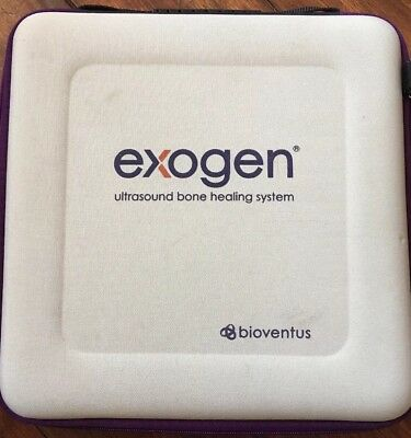 Exogen Bioventus Ultrasound Bone Healing System Home Medical Device Used