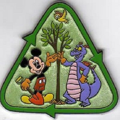 Disney Cast Member Create-A-Pin Mickey & Figment Environmentality LE 1000 pin