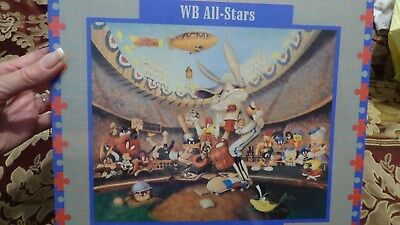 New! Rare LOONEY TUNES WB ALL STARS PUZZLE Sealed