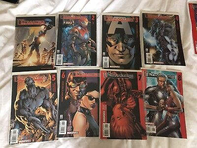 The Ultimates Vol.1 #1-13 Complete Series (2002 Marvel Ultimate) 13 Issue Lot