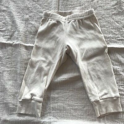 American apparel Organic baby pants 18-24m off white Never Worn