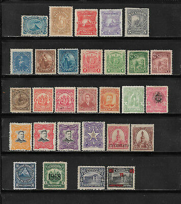 El Salvador, Salvador, Lot in */(*) ca. 1867 - 1921 ab Mi.Nr. 1,  2 Scans !