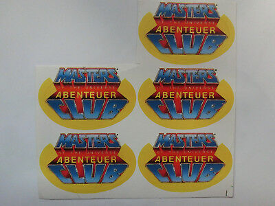 Masters of the Universe Abenteuer Club Aufkleber