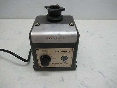 Lab Line Instruments Super Mixer 1290 Variable Speed Unit w/ Touch Plate