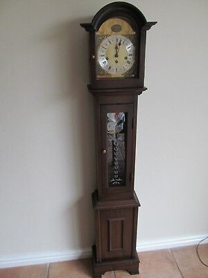 Long base grand daughter clock Westminster Chime FHS Germany