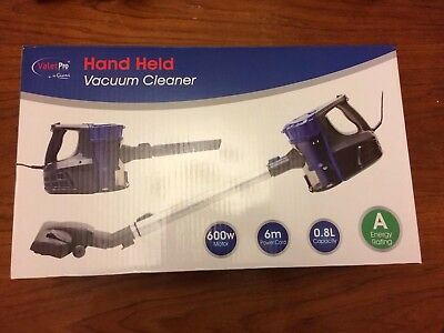 Valet Pro VPH12A by Gianni hand held vacuum cleaner - New & boxed.