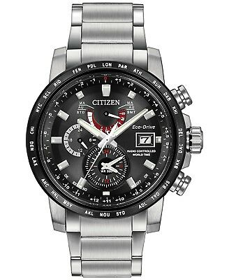 Citizen Eco Drive A T Radio Controlled Mens Rose Gold Watch At8113
