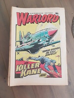 Job Lot Of Vintage Warlord Comics 1984 Complete Year