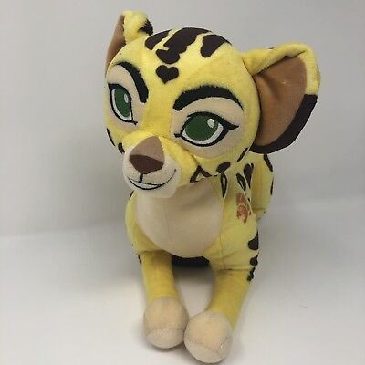 "Disney Store The Lion Guard Fuli Cheetah Plush Toy Doll Stuffed Animal 11"" 17"""