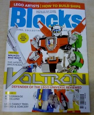 ***** BLOCKS LEGO Magazine Issue 48 VOLTRON Edition