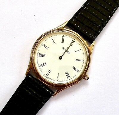 $1,590.00 Retail - Mens Concord Solid 14k Yellow Gold Classic - Brand New - NOS