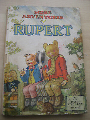 Two 1954 Rupert Bear Annuals