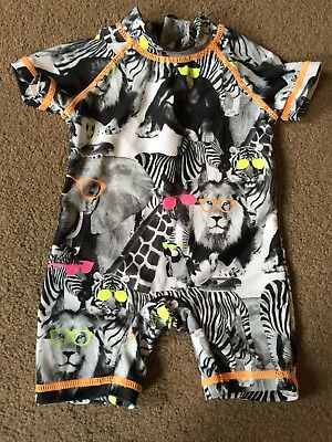 Next Baby Boy 3-6 Month Swimsuit Sunsafe This Season Worn Once
