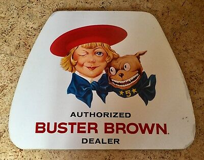 Vintage Buster Brown Shoes Store Advertising Sign, Counter Display