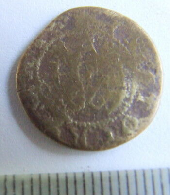 Extremely Rare 17th Century His Halfpenny Token 1667