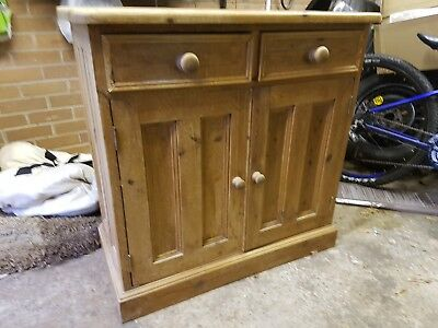 antique pine cupboard dresser. Cw7 winsford
