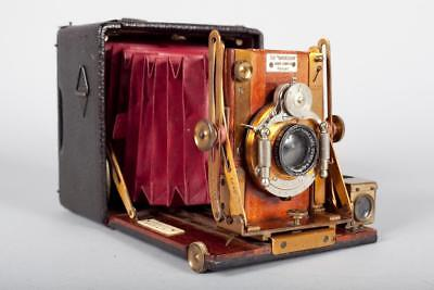"""Vintage ~ c1920 ~ """"The Sanderson""""  Hand and Stand Camera"""