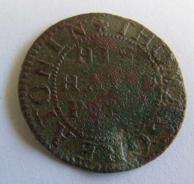 Rare 17th Century His Halfpenny Traders Token (Brewer)