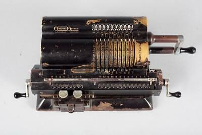 "Vintage ~ c1930 ~ ""Aktiebolaget Original Odhner"" Mechanical Pinwheel Calculator"