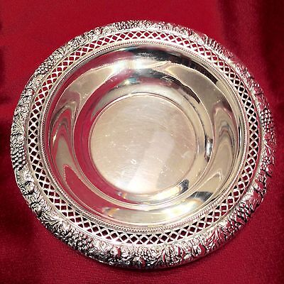 """STERLIING SILVER 6 1/4"""" BOWL 1900-1940 ROGER LUNT & BOWLER CO 89g"""