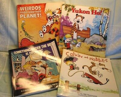 Lot Of 4 Calvin And Hobbes Collection By Bill Watterson Books