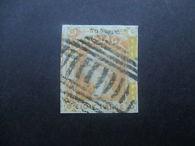 NSW Stamps: 8d Yellow Laureates Used   Free Post  (j20}
