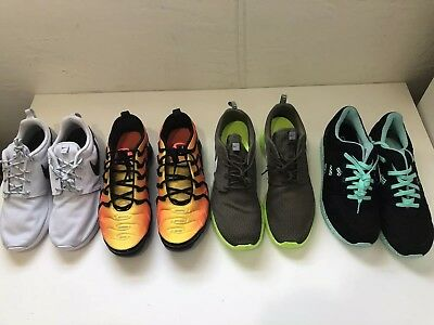 Nike Sneaker Lot Of 4 Pairs For Men's Size 10 To 11.5 Details In Description
