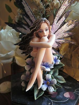 Amy Brown PERIWINKLE FAERY Fairy Figurine Brand New In Box! Pacific Giftware