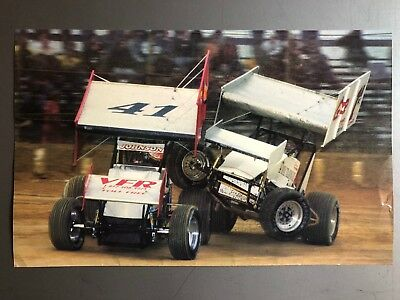 2003 Sprint Race Car World of Outlaws Print, Picture, Poster RARE!! Awesome L@@K