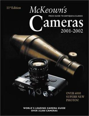 MCKEOWN'S PRICE GUIDE TO ANTIQUE & CLASSIC CAMERAS 2001-2002 By James M. Mint