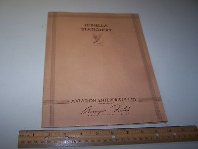 WW2 WWII USN Wave Fifinella Stationary WASP named Ens. Anne Y. Kindling
