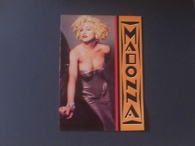 Madonna  Europe '90 Tour Brochure 24 Pages June-July 1990