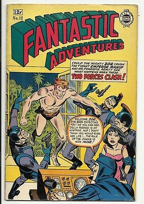 Fantastic Adventures - Silver Age Super Comics - Zor the Mighty - VG- 3.5