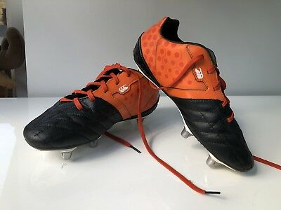 Boy's Canterbury Phoenix Club 6 Kids Rugby Boots Size Uk5.5 EUR38.5