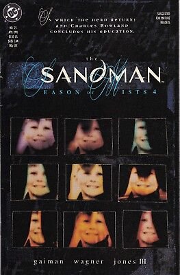 SANDMAN #25 (Apr 1991) DC Neil Gaiman Season of Mists 4 NM- 9.2