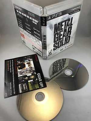 Metal Gear Solid: The Legacy Collection (Playstation 3 / PS3)