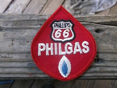 Phillips 66 Phil Gas Embroidered Sew On Only Patch Advertising